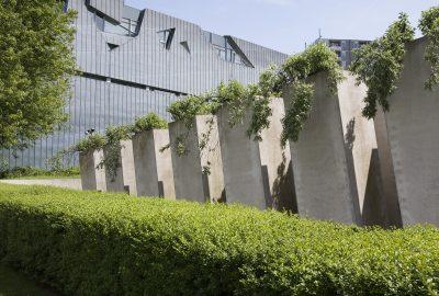 Vue extérieure du Musée juif de Berlin en Allemagne