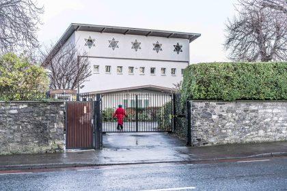 Entrée de la synagogue de Dublin