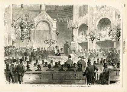 Synagogue de la rue Notre Dame de Nazareth