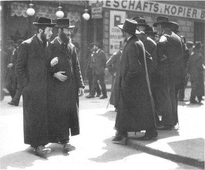 Juifs viennois, 1915