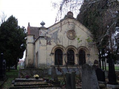 Batiment situé au cimetière juif de la ville d'Osijek en Croatie
