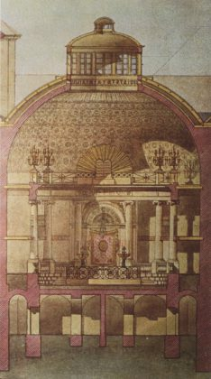 Illustration de la Synagogue du Seitenstettengasse, Vienne