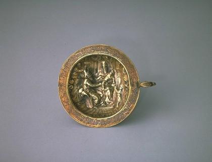 Coupe de circoncision, Padoue (XVIIe siècle, Musée d'art et d'histoire du judaïsme, Paris)