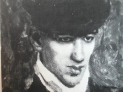 Portrait de Jules Pascin par Albert Weisgerber, 1906