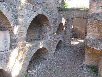 Vestige des catacombes juives à Rome