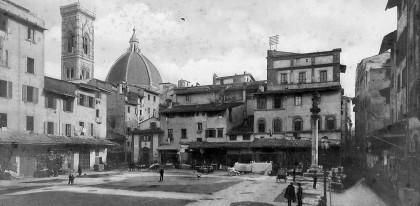 Ghetto de Florence, 1880