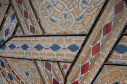 Vitrail de la Synagogue d'Ostende