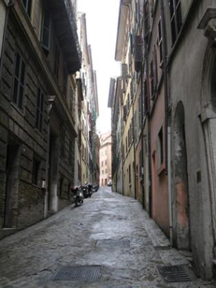 Via Astagno, Ghetto d'Ancône