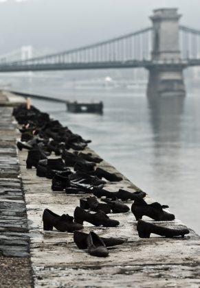 Chaussures au bord du Danube, mémorial, Budapest