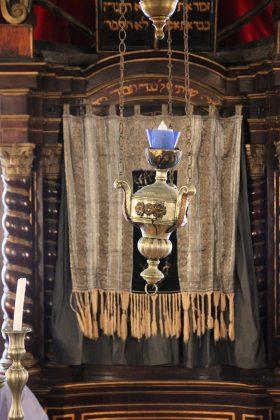 Tevah de la synagogue de Dubrovnik en Croatie
