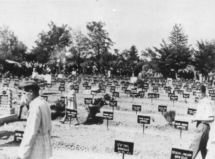 Cimetière juif du camp de concentration de Dakovo