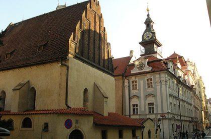 Synagogue vieille-nouvelle et hôtel de ville, Prague