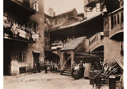 Le ghetto juif de Prague en 1896