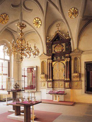 Intérieur de la synagogue Vysoka, Prague