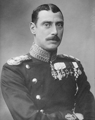 Portrait du roi du Danemark qui à l'instar des autorités politiques et religieuses de l'époque sauva les juifs du Danemark pendant la Shoah