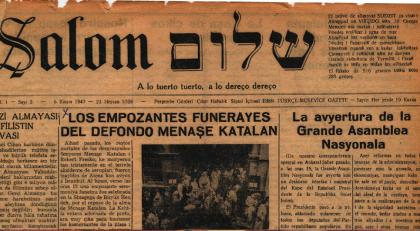 Le journal Shalom, édité depuis 1947 en judéo-espagnol