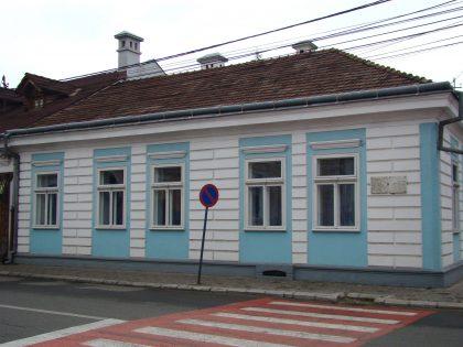 Maison où a vécu l'auteur et prix Nobel Elie Wiesel à Sighet, visitée par de nombreux étudiants et professeurs