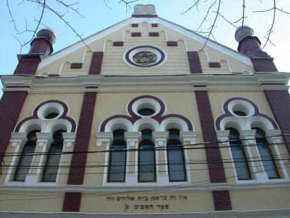 Monument demeurant de la grande ère hassidique, la synagogue demeure une curiosité architecturale