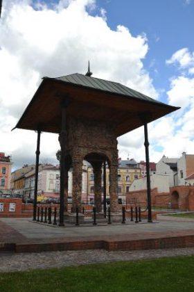 La bimah de la synagogue de Tarnów aujourd'hui