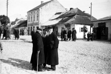 Juifs de Slonim dans les années 1920 (National Digital Archive)