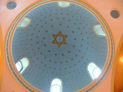 Dôme de la synagogue ashkénaze