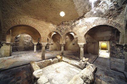 Bains arabes du palais de Villardompardo