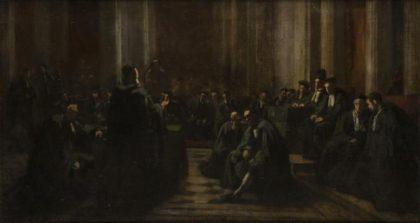 Edouard Moyse, The Great Sanhedrin, 1867 (Musée d'Art et d'Histoire du Judaïsme, Paris)
