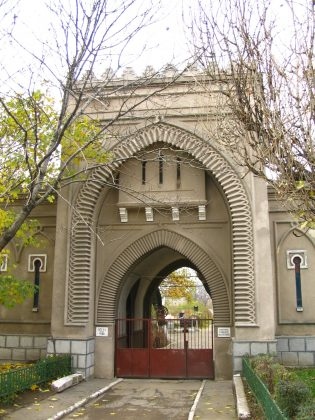 Sephardic cemetery inscribing the important part played by both communities in the city of Bucharest
