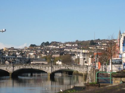 Panorama of the city of Cork