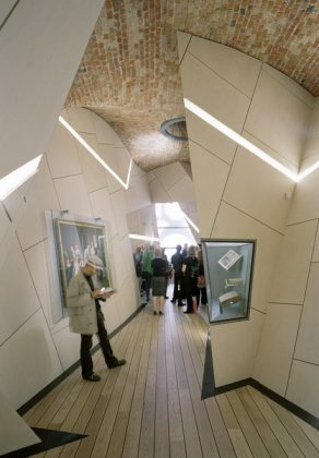 Museum designed by architect Daniel Libeskind reflecting the contiuous happy life of Danish Jews around the Mitsvah theme