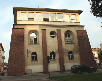 Outside view of the Rzeszow synagogue