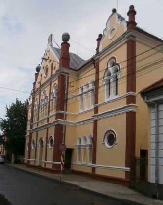 Sephardic liberal synagogue of Sighet, the only one remaining in this romanian city
