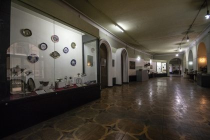 Intérieur du Musée d'histoire de Géorgie
