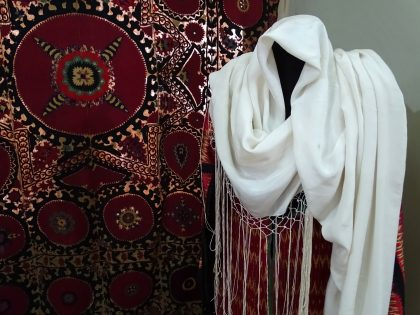 Jewish woman's dress at the museum in Tbilisi