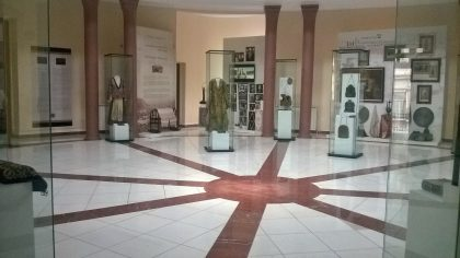 Interior of the Museum of the History of the Jews