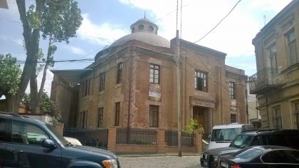 Building of the Jewish museum of Tbilisi