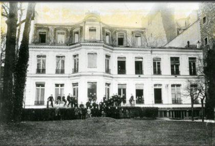 Ancien bâtiment de l'école juive de l'AIU ENIO