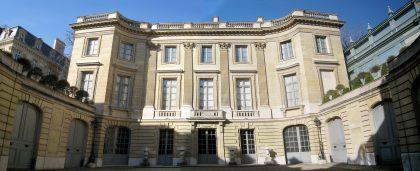 Vue extérieure de l'immeuble accueillant le Musée Nissim de Camondo du nom du fils d'un grand personnage parisien, amateur d'art et mécène