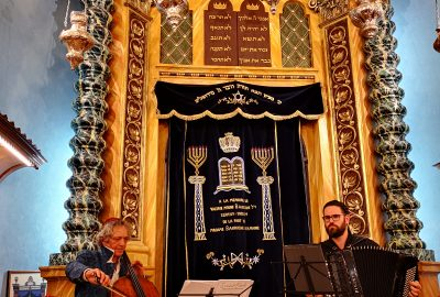 Concert at the Synagogue of Nice. Photo of European Days 2019